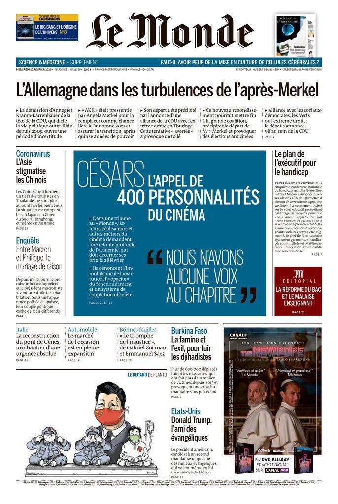 Le Monde   Fenoglio, Jérôme. Directeur de publication