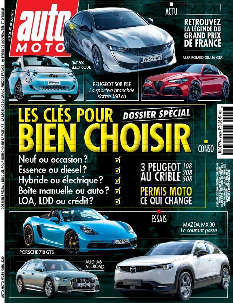Auto Moto   Chevalier, Pascal. Directeur de publication