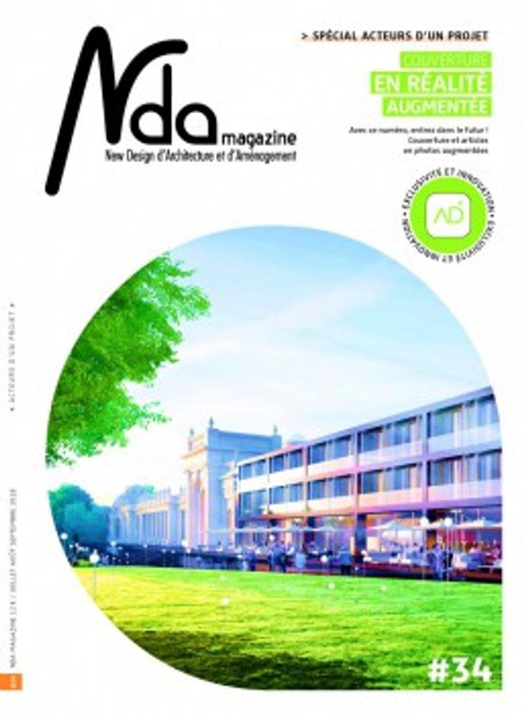 Nda magazine : New Design d'Architecture et d'Amenagement   Bilde, Danielle. Directeur de publication
