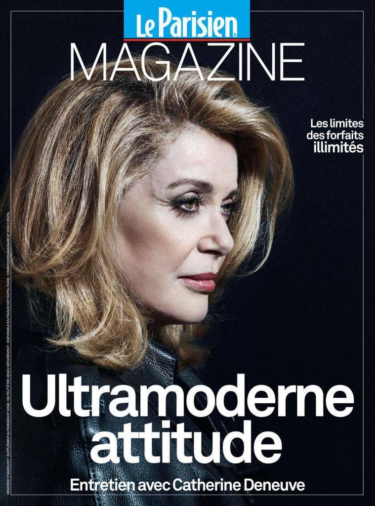Le Parisien magazine   Amaury, Marie-Odile (1939-....). Directeur de publication