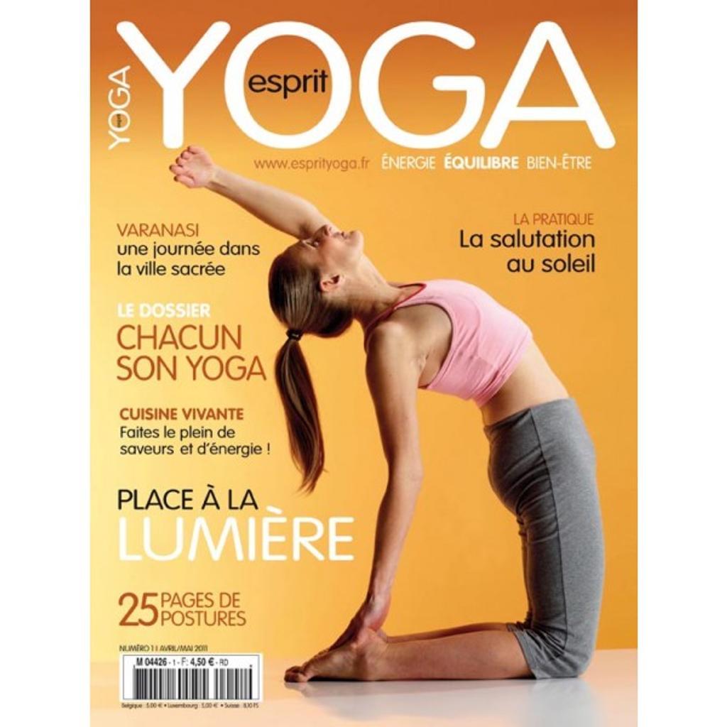 Esprit yoga / directeur de la publication Valérie Fouassier |
